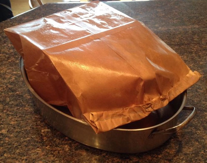 Roast Turkey In A Brown Paper Bag Anita S Table Talk