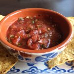 Fresh Tomato and Jalapeno Pepper Salsa