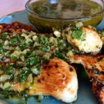 Grilled Chicken with Chimichurri