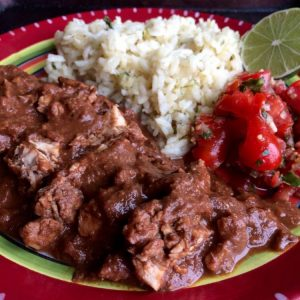 Chicken Mole Slow Cooker Style (Mole Poblano)