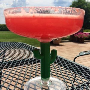 Fire and Ice Watermelon Margarita