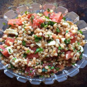 Watermelon Couscous Salad