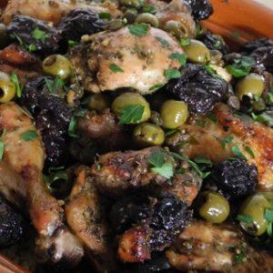 Chicken Marbella Revisited