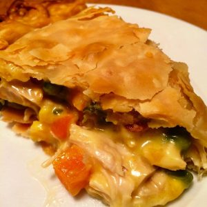 Lazy Turkey Pot Pie